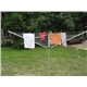 Rotary clothes airer