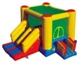 Toys-Inflatable Bouncers with Slides