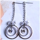 brass alloy,alloy jewelry,gold earring,diamond earring