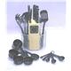 Knife 24pcs Bakelite Handle and Kitchen Tools Set Plus Woode