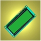 1620G-1/YG 16x2 character LCD module with ST7065 a