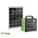 50W DC solar power system