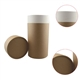 Natural Plain Cosmetic Paper Tube