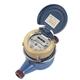 Multi jet dry dail horizontal water meter