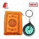 Muslim Prayer Mat with Compass and Portable Travel Pocket Pr