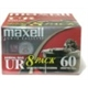 Maxell Normal Bias Audiocassette Multi Pack - 8 Pack - 60 Mi