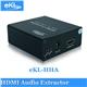 HDMI Audio Extractor HDMI to 5.1 Toslink SPDIF Coaxial 3.5mm