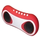 MP3/MP4 Mini Stereo Speaker FM Radio