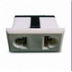 AC Socket with Panel Thickness