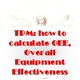 TPM: how to calculate OEE, Overall Equipment Effectiveness