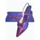 Lady Shoes with Purse (LSM-8014-purple)