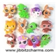 12 The Littlest Pet Shop Mixed Shoe Charms Fits Ji