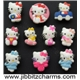 10 New Hello Kitty Shoe Charms Fit Jibbitz (JIBBIT