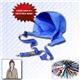 Promotional neck lanyard hood