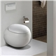 NAPPOR DESIGNED WALL HUNG EGG POD TOILET WITH CONCEALED FRAM