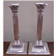 Pair of Antique Silver Candlesticks