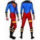 Lycra Spandex Superman Costume Superhero Zentai Suits