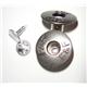 Metal eyehole shank button