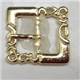 Alloy square belt buckle
