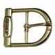 Fashion logo metal belt buckle