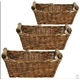 Rectangle Willow Storage Baskets