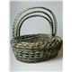 wicker fruit basket,with the handle,set of 3