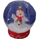 Inflatable snowing globe with snowman inside-40CM high