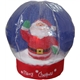 Inflatable snowing globe with santa claus inside-40CM high