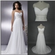 On Promotion Chiffon Beach Wedding Dress
