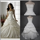 Cheap Ball Gown  Embroidery Taffeta Wedding Dress