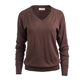 Kennedy Long Sleeve Solid V-Neck Sweater