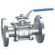 3PCS Flange Ball Valve with Mouting Pad (Q41F)