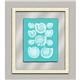 Aqua Shells in Glass III
