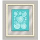 Aqua Shells in Glass II