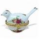Porcelain Bird Jewelry/Trinket Box