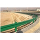 Highway Guardrail Fishtail Terminal End