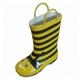Kid's fashionable rubber rain boots