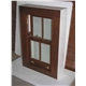 Box sash windows with leads and puleys