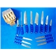 14pcs Forged Handle Knife Set Plus Bamboo Block