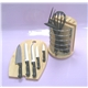 12PCS Bakelite Handle Knife Set Plus Wooden Block