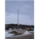 Polyolefin-Fiberglass Lighting Pole