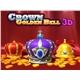 3D Crown Golden Bell