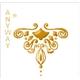Arabesque Stickers