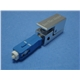 SC Bare Fiber Optic Adapter