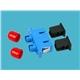 FC-SC Duplex Hybrid Fiber Optic Adapter