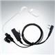 Acoustic tube earphone walkie talkie