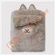 Eazzie Kids Brown Alpaca Doll Pillow Blanket