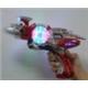 Flashing gun with spinner