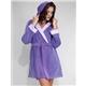 Tonal Warmth Hooded Robe