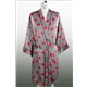 Checkers and Hearts Silk Robe